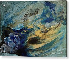 Mystic Lake Acrylic Print by Valia US