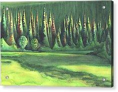 Mystic Marsh Acrylic Print