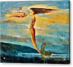 Mystic Mermaid IIi Acrylic Print