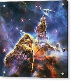 Mystic Mountain Acrylic Print