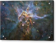 Mystic Mountain Acrylic Print by Nasa