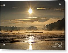 Acrylic Print featuring the photograph Mystic Shores by Everett Houser
