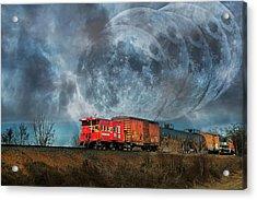 Mystic Tracking Acrylic Print