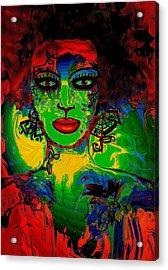 Mystic Woman Acrylic Print by Natalie Holland