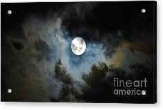 Mystical Clouds Acrylic Print