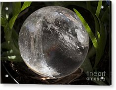 Mystical Crystal Sphere Acrylic Print