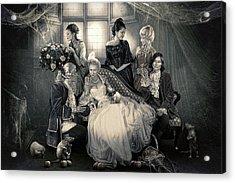 Mystical Family Acrylic Print by Cindy Grundsten