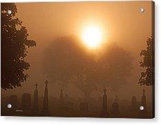 Mystical Fog Acrylic Print