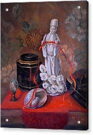 Mystical  Acrylic Print by Jolyn Kuhn