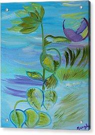Mystical Moods Acrylic Print by Meryl Goudey