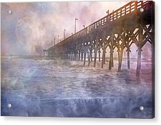 Mystical Morning Acrylic Print by Betsy Knapp