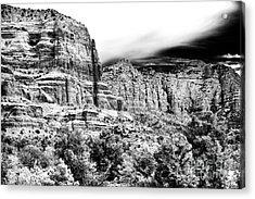 Mystical Rocks Acrylic Print by John Rizzuto