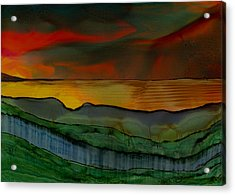 Mystique Of Nature Acrylic Print