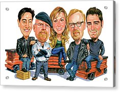 Mythbusters Acrylic Print by Art