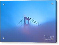 Acrylic Print featuring the photograph Mythical Gate by Jonathan Nguyen