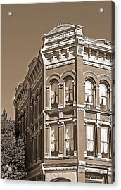 N. D. Hill Building. Port Townsend Historic District  Acrylic Print