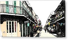N O French Quarter Acrylic Print