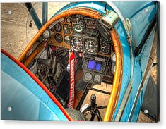N1g Interior Acrylic Print by Tim Stanley
