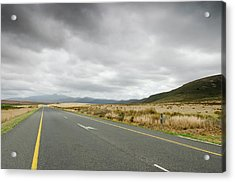 N2 Motorway In Western Cape, South Acrylic Print