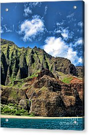Na Pali Coast 1 Acrylic Print by Baywest Imaging