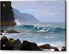Na Pali Coast In Hawaii Acrylic Print