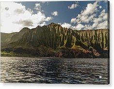 Na Pali Coast Kauai Hawaii Acrylic Print by Brian Harig