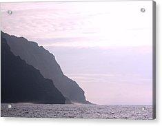 Na Pali Coast Sunset Acrylic Print