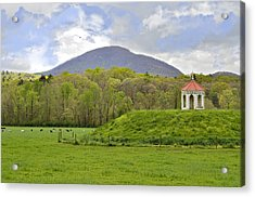 Nacoochee Indian Mound Acrylic Print by Susan Leggett