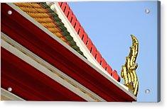 Naga Roof Acrylic Print