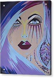 Acrylic Print featuring the painting Naira by Kathleen Sartoris