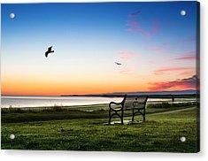 Nairn Beach At Dawn Acrylic Print
