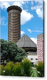 Nairobi Kenya Skyline Acrylic Print by Robert Ford