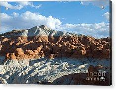 Naked Mountain Acrylic Print