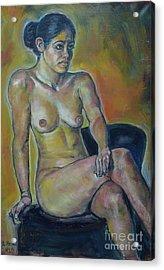 Naked Suri 1 Acrylic Print