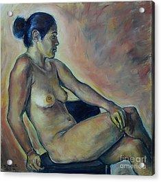 Naked Suri 2 Acrylic Print