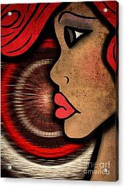 Nala Badu Acrylic Print by Angelica Smith Bill