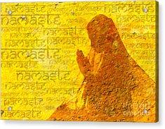 Namaste  Acrylic Print by Tim Gainey