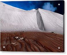 Nambung Desert Floor Acrylic Print