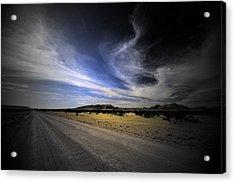 Namibia Landscape Acrylic Print by Riana Van Staden