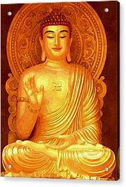 Namo Amitabha Buddha 36 Acrylic Print by Lanjee Chee