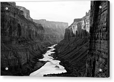Acrylic Print featuring the photograph Nankoweap B-w by Atom Crawford
