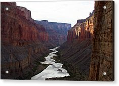 Acrylic Print featuring the photograph Nankoweap Grand Canyon Color by Atom Crawford
