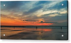 Nantasket Beach Sunrise Acrylic Print