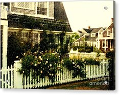 Nantucket Cottage Acrylic Print by Desiree Paquette
