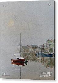 Nantucket Fog Acrylic Print
