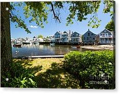Nantucket Homes By The Sea Acrylic Print