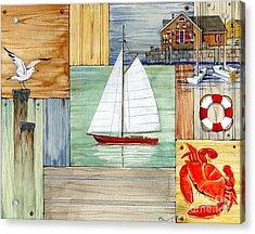 Nantucket II Acrylic Print by Paul Brent