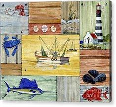 Nantucket IIi Acrylic Print by Paul Brent