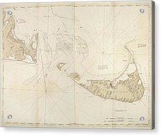 Nantucket Island Acrylic Print by British Library