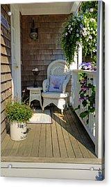 Nantucket Porch Acrylic Print